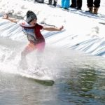 Unofficial End To Season As Wintergreen Resort Holds Annual Pond Skimming Event