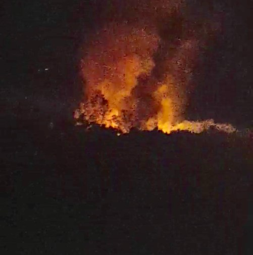 NEWS ALERT : Total Loss From Fire On Bryant Mountain (Video