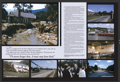 50 Years Ago Today Nelson County, Virginia Was Forever Changed : Hurricane Camille