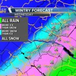 Watching Chances For Wintry Weather Through Wednesday Night