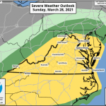 Severe Weather Possible Late Weekend