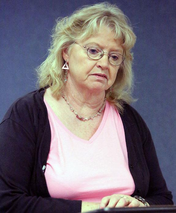 """Ann Turman: """"I would like to see it paved."""""""