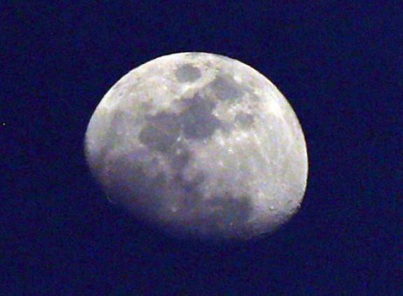 The moon over Floyd