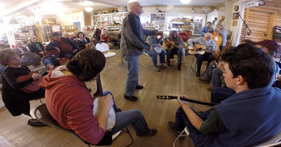 Sunday Music Jam at The Floyd Country Store