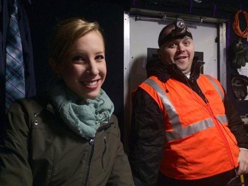 WDBJ-TV reporter Alison Parker, left, and cameraman Adam Ward. (Courtesy of WDBJ-TV via AP)