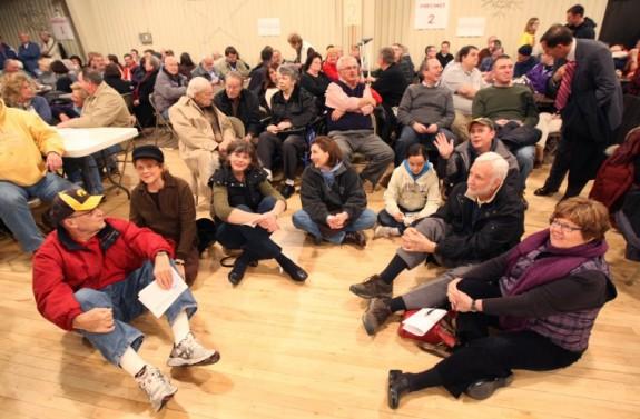 Iowans in a caucus: Grassroots?