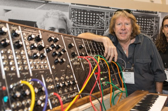 Keith Emerson in 2015 (AP/Paul A. Hebert/Inovision)