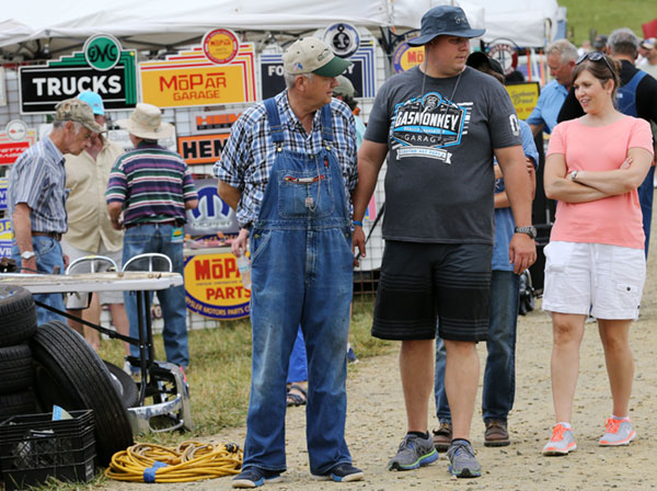Auto Fair fans come in all ages.