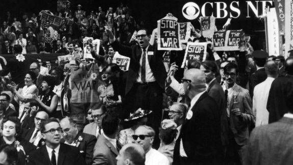 Democratic Presidential Convention in Chicago in 1969: My first.