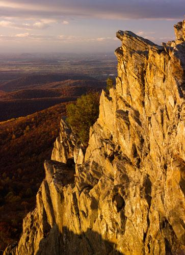 Humpback Rocks  Blue Ridge Parkway