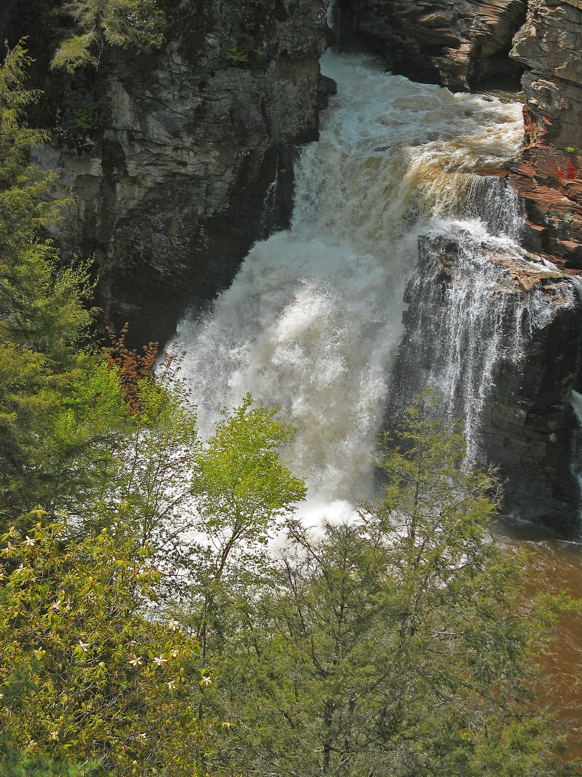 Linville Falls  Blue Ridge Parkway