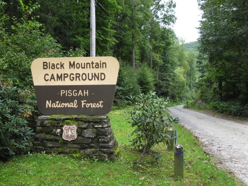 The trail begins at the black mountain campground (operated by the u.s. Black Mountain Briar Bottom Campgrounds Blue Ridge Parkway