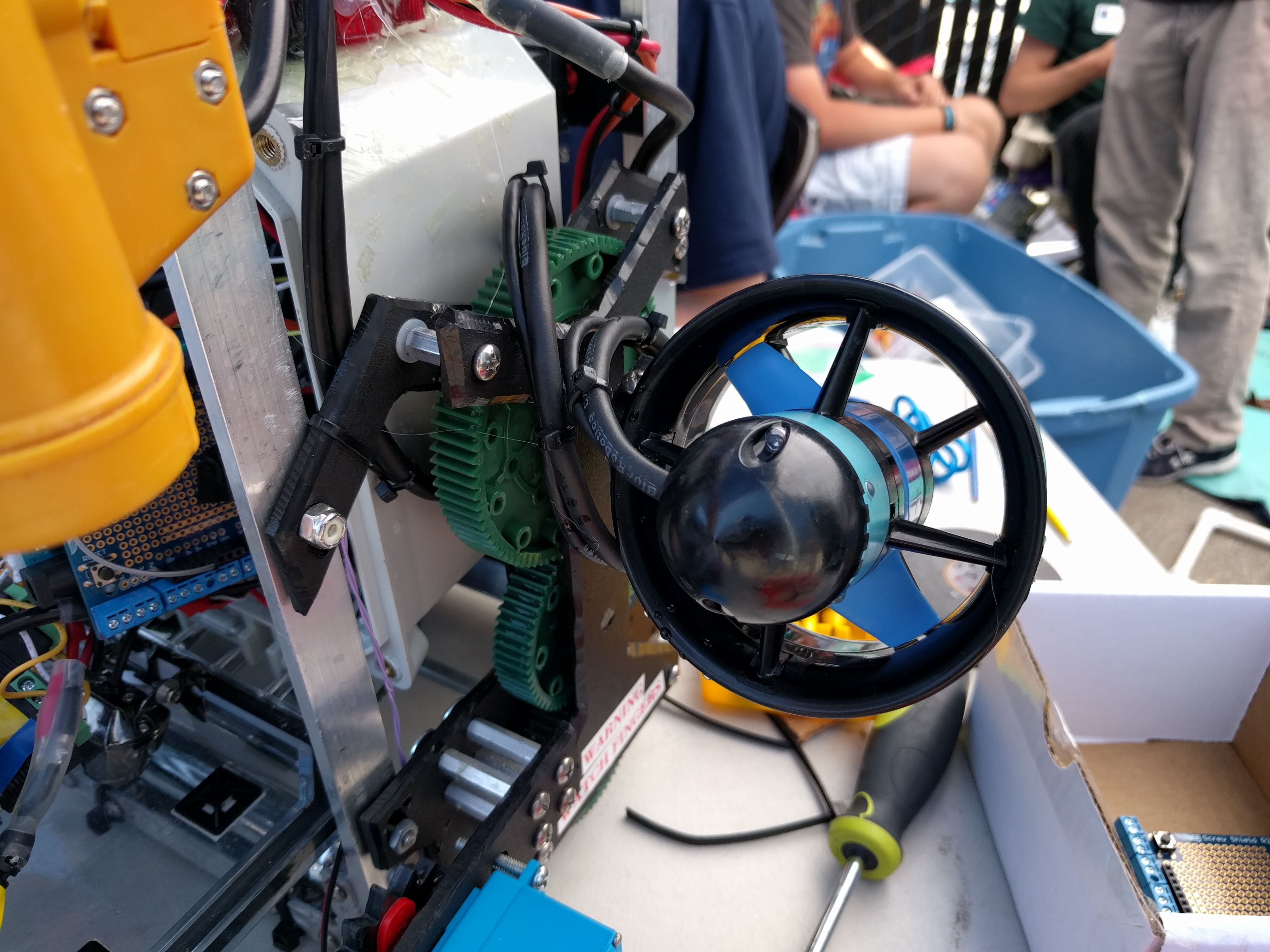 Using Blue Robotics Components on a Competition ROV  Blue