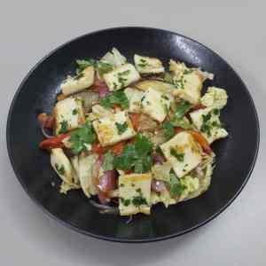 Cyprus Style Halloumi Salad
