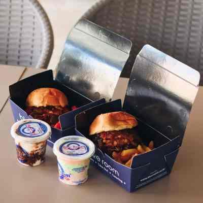 Thursday 2 burger 2 chips 2 ice cream offer