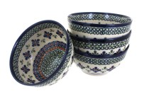 Blue Rose Polish Pottery | Dinnerware