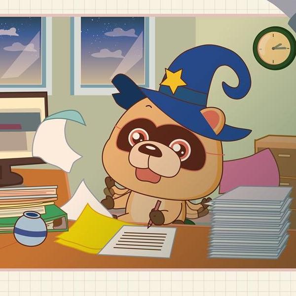 水瓶座如何忘掉一個人:用忙碌占滿時間 - 星座小熊-布魯斯
