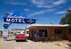 Blue Swallow Motel, Tucumcari, New Mexico