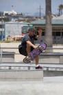 Big Air: Skateboarder at Venice Beach