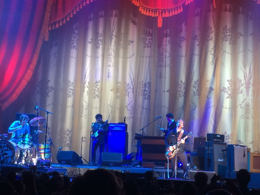 Black Keys at the Forum, Los Angeles, 11/6/14. Photo Ric Stewart