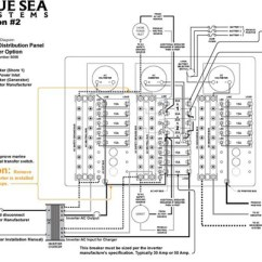 Main Panel To Sub Wiring Diagram 2003 Dodge Ram 2500 Trailer Inverter Load Group Panels Blue Sea Systems