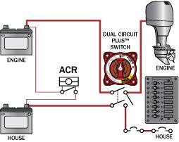 Dual Trolling Motor Battery Wiring Diagram Three Acrs From Blue Sea Systems Blue Sea Systems