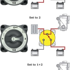 2 Way Lighting Switch Wiring Diagram Of Star Delta Starter Switching Solutions For Multiple Battery Banks - Blue Sea Systems