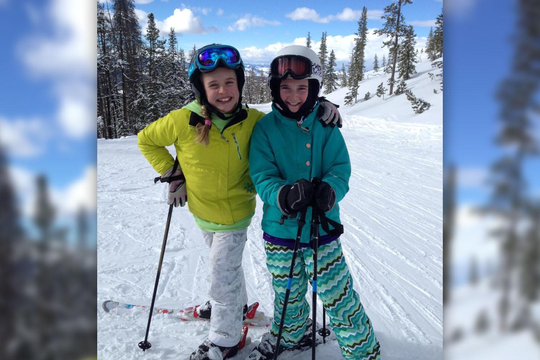 Juvenile Arthritis Girl To Ski Blue Sky Cup