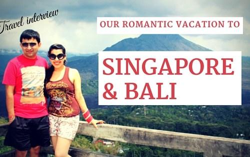 singapore bali honeymoon
