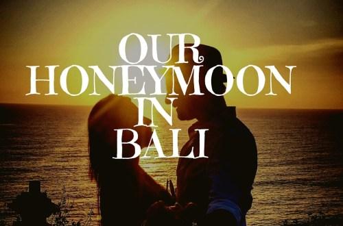 Romantic trip to bali