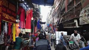 busy streets of burrabazar