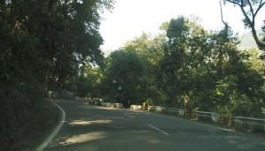 road to Nainital from Delhi