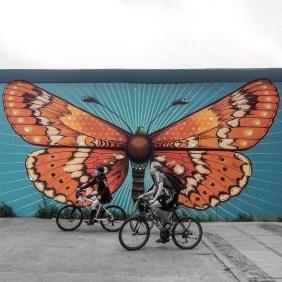 """Graffiti to hide construction sites in Copenhagen"""