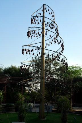 Bells tree at Garden of 5 senses