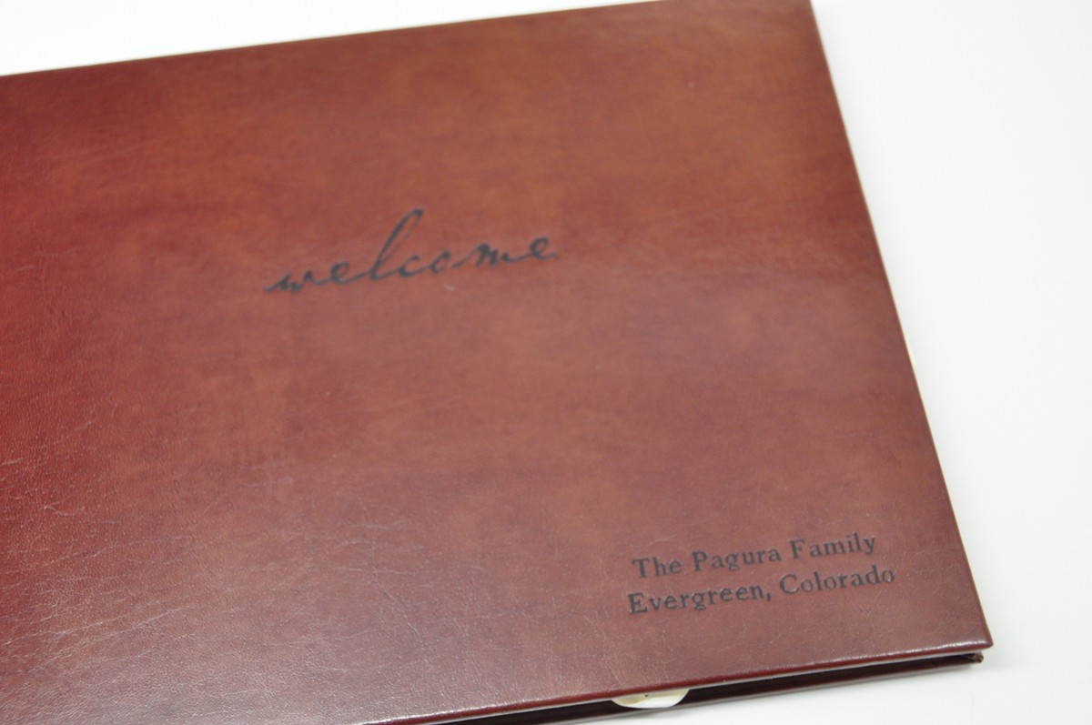 House Guest Book An Archival Home Keepsake By Blue Sky
