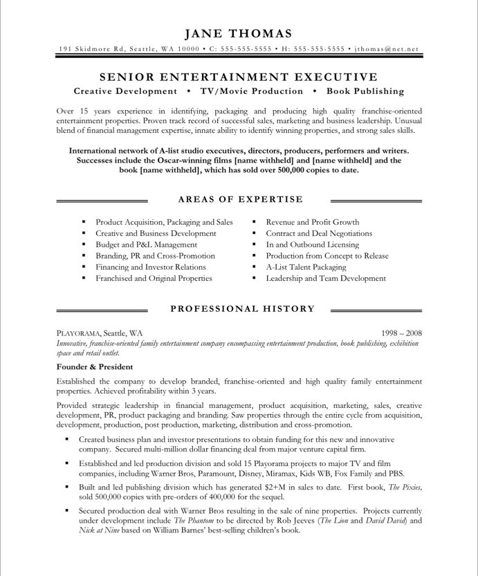 Best Resume Format For Older Workers Resume Examples