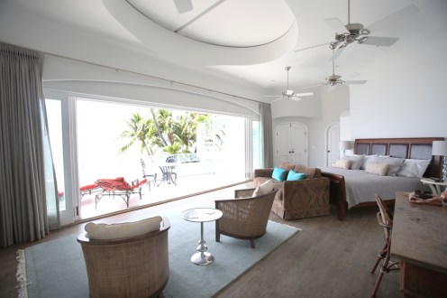 Master bedroom in Lahaina faces ocean