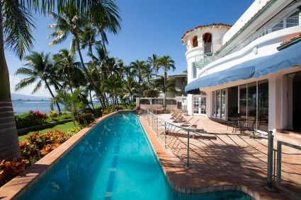 pool, maui, vacation house rental