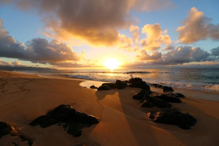 Maui hawaii-sunset