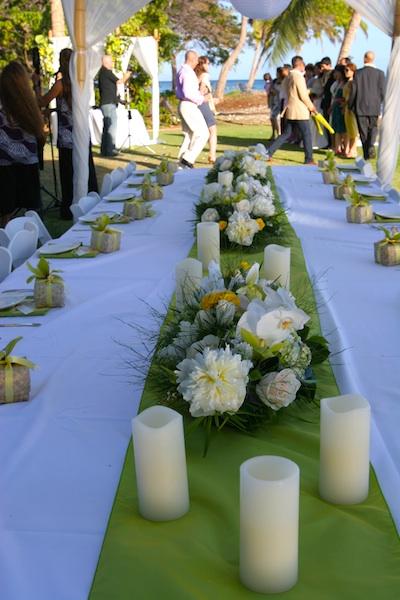 Rose Wedding Table Centerpieces