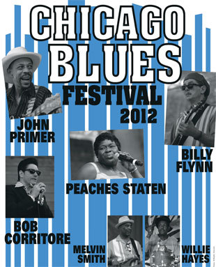 Chicago Blues Festival 2012 On Tour
