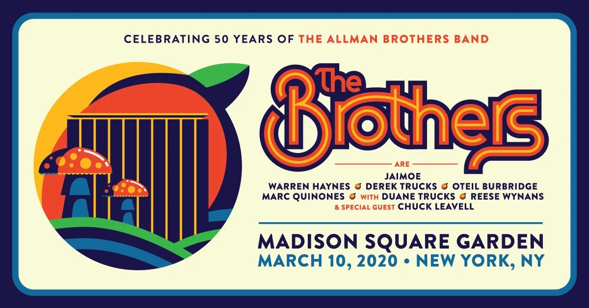 The Brothers - Celebrating 50 Years of the music of The Allman Brothers Band