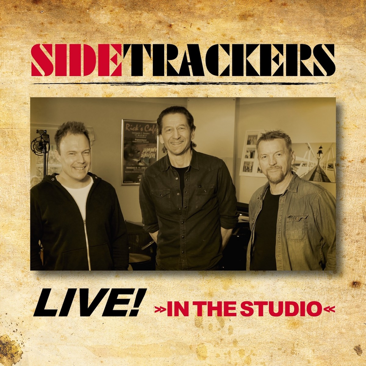 Anmeldelse: Sidetrackers: Live! in the studio (MJ Records)