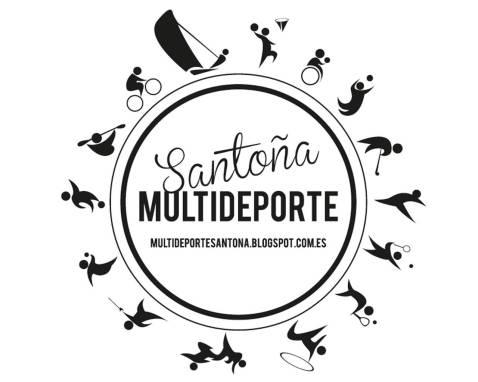 Diseño Logotipo Santoña Multideporte