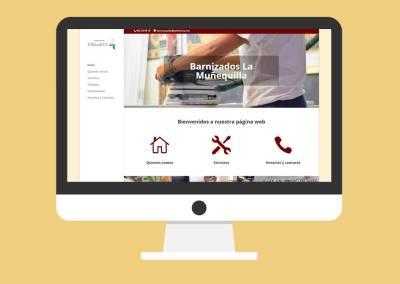 Página Web Barnizados La Muñequilla