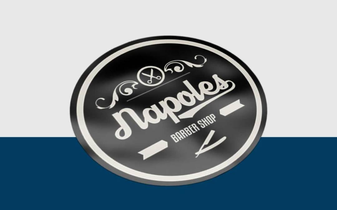 Pegatinas Napoles Barbershop