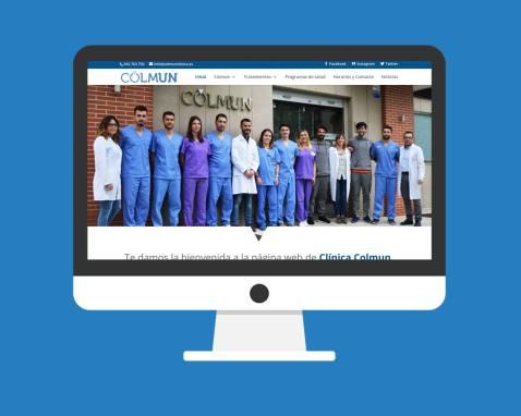 Página Web Colmun Clínica
