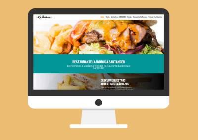 Página Web La Barruca Santander