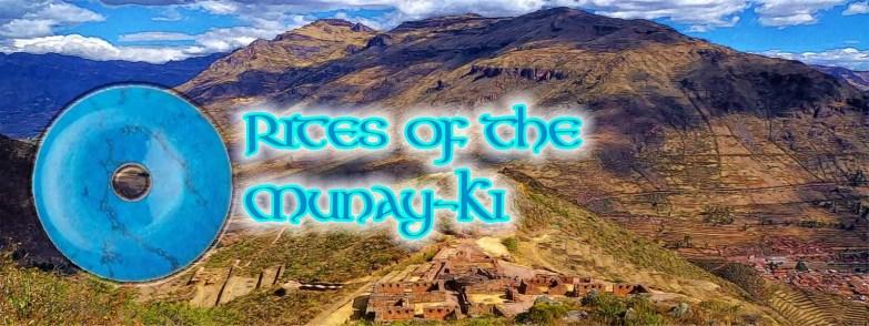 Rites of the Munay-Ki