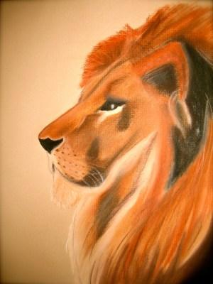 Blue Sol Shamanism - Lion